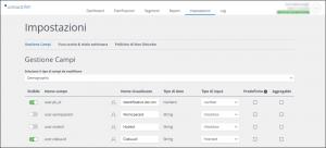 Personalizza la tua interfaccia e velocizza la creazione dei segmenti
