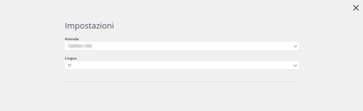 Selezionare un database