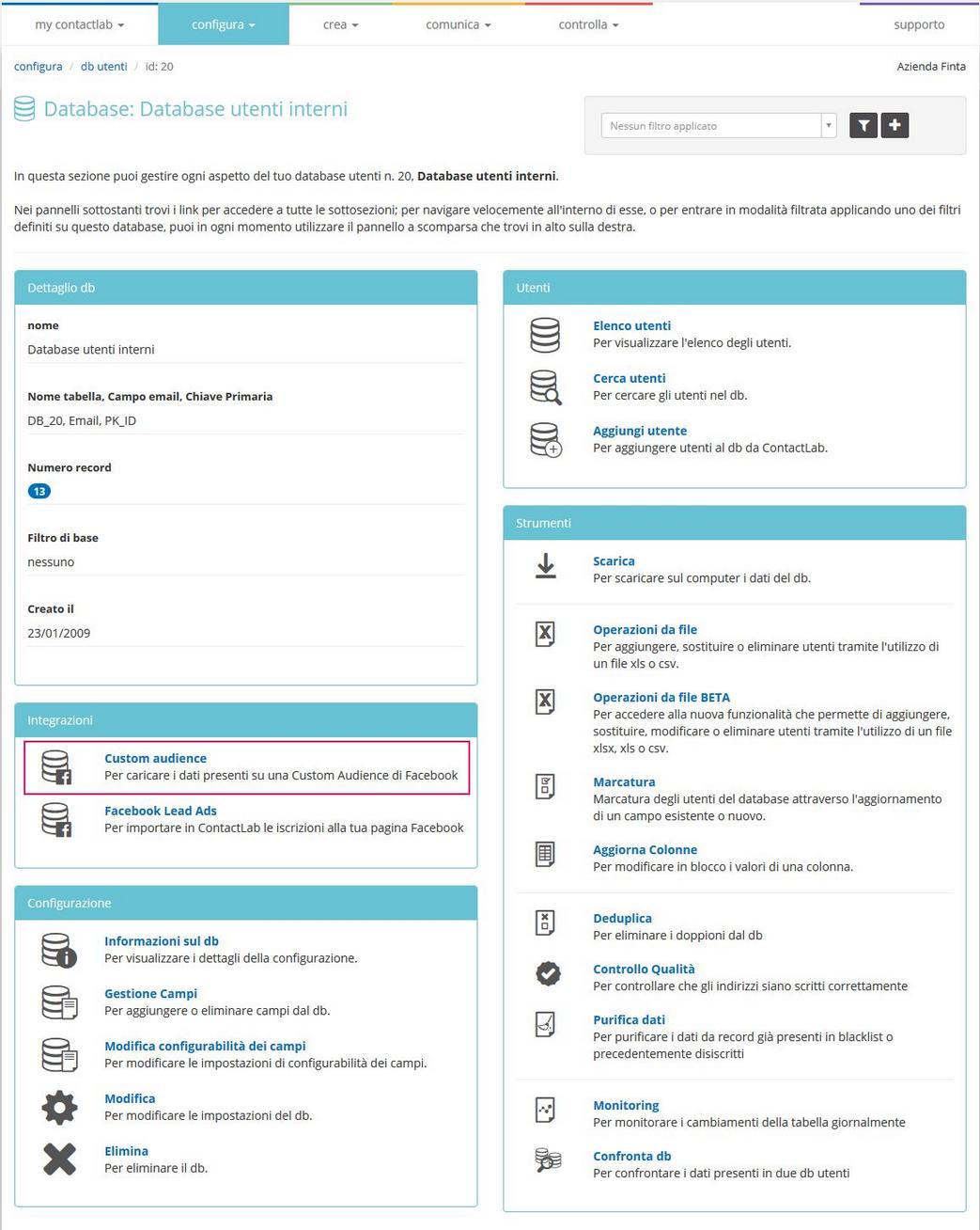 clab_configura_db_gestisci-customaudience