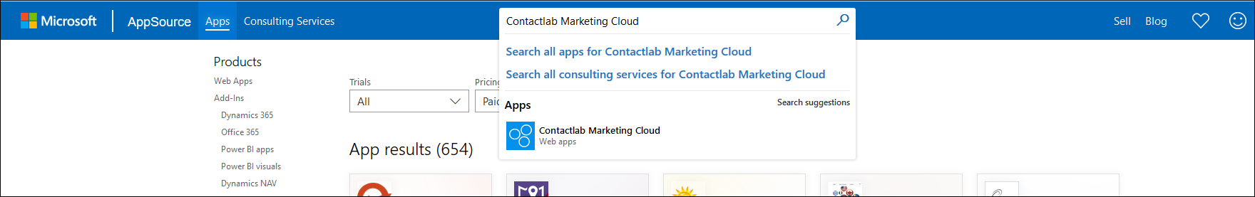 AppSource Microsoft