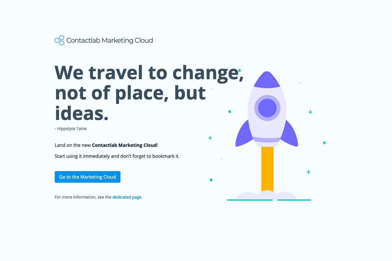 New Hub UI