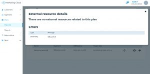 Segment: plan details
